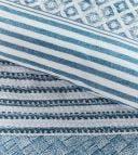 Rivièra Maison housse de couette Desert Secrets Bleu Coton