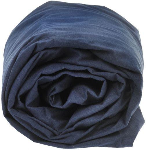Sleepnight hoeslaken marineblauw katoen (hoekhoogte 25 cm)