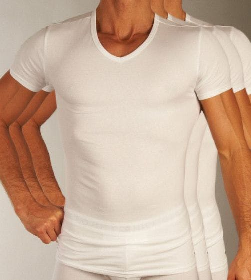 Tommy Hilfiger T-shirt 3 pack Premium Essentials V-neck H 2S87903767-100
