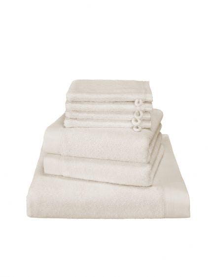 De Witte Lietaer 7-delige handdoekenset Maom vanilla