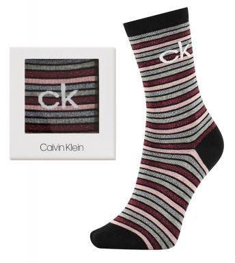 Calvin Klein sokken Sparkle Stripe Logo Holiday Abby D