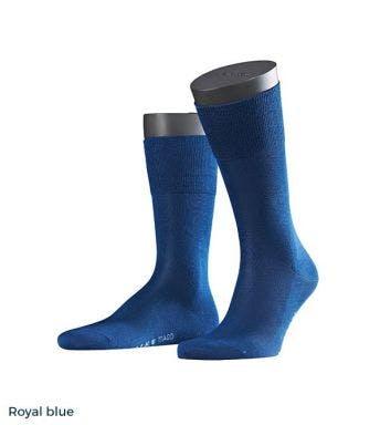 Falke kousen Tiago Fil D'Ecosse H Royal Blue 14662-Royal blue
