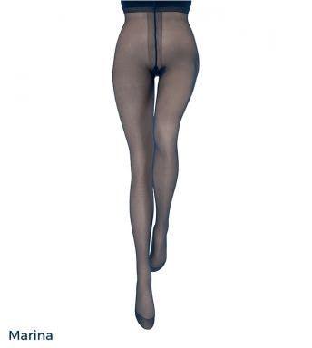Le bourget panty Couture Collant Résistant 30D Noir