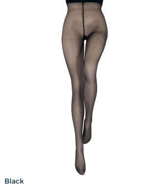 Le bourget panty Couture Collant Perfect chic 40D Noir