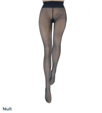 Le bourget panty Héritage Collant Luxe 10D Nuit