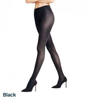 Falke panty Pure Shine 15 Den D Black