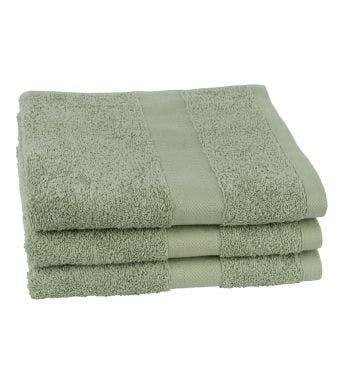 Jules Clarysse handdoek Talis powder green