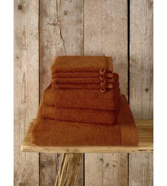 De Witte Lietaer 7-delige handdoekenset Maom caramel