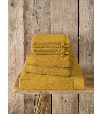 De Witte Lietaer 7-delige handdoekenset Maom ochre