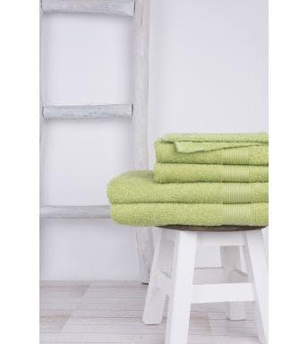 Jules Clarysse 6-delige handdoekenset Viva green