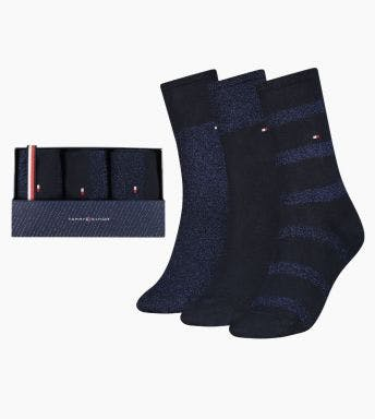Tommy Hilfiger sokken 3 paar Sparkle Giftbox D