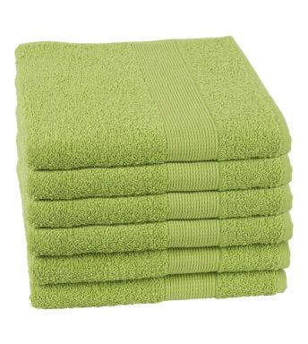 Jules Clarysse handdoek Viva green
