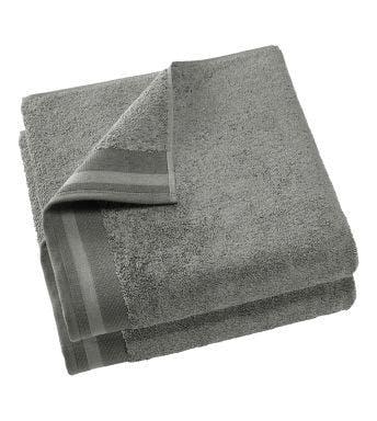 De Witte Lietaer handdoek Contessa steel grey