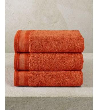 De Witte Lietaer handdoek Contessa burnt orange