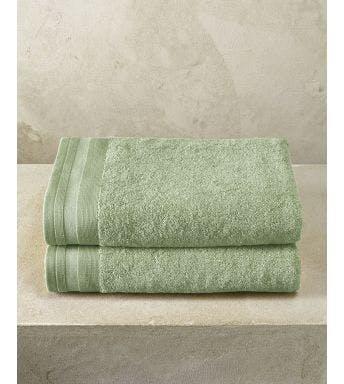De Witte Lietaer handdoek Contessa sea green