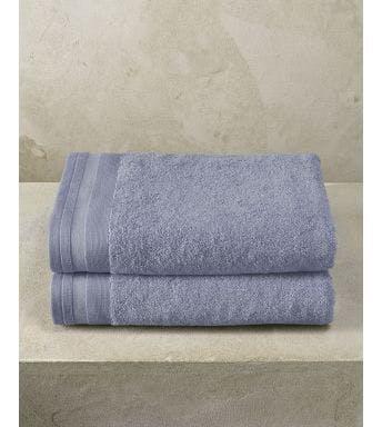 De Witte Lietaer handdoek Contessa stone blue