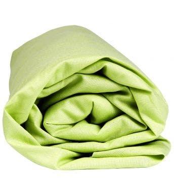 Sleepnight drap-housse hauteur des coins 30 cm lime coton