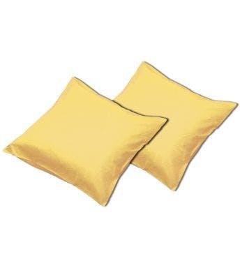 Sleepnight kussensloop geel katoen set van 2