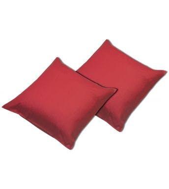 Sleepnight kussensloop rood katoen set van 2