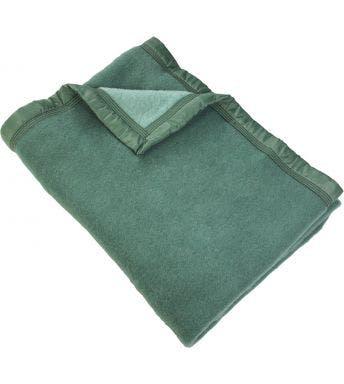 Good Night wollen deken groen