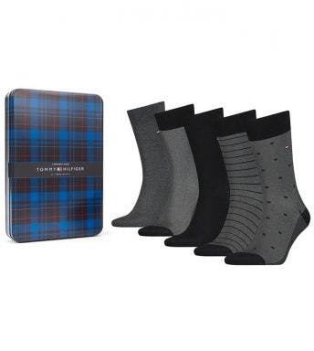 Tommy Hilfiger sokken 5 paar Men Giftbox Birdeye H 100000846-003