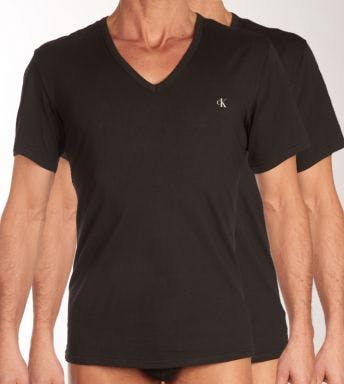 Calvin Klein T-shirt 2 pack V-Neck CK ONE H 000NB2408A-001
