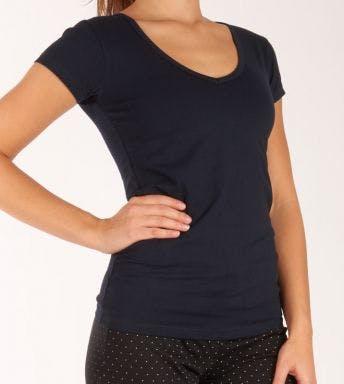 Claesen's T-shirt V-Neck D CL8010 blauw