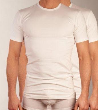 Claesen's T-shirt 2 pack H 1021 wit