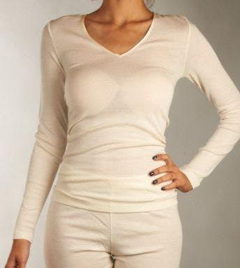 Hanro Shirt WoolEnSilk Long Sleeve Shirt D 071418