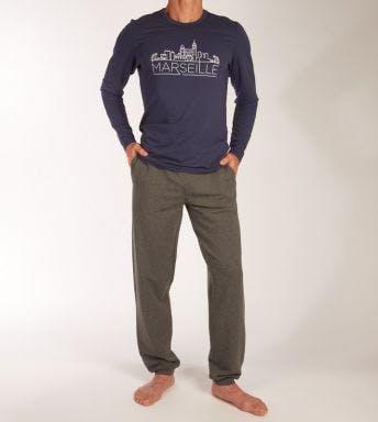 Hom pyjama lange broek Long Sleepwear Marseille H 401865-00RA
