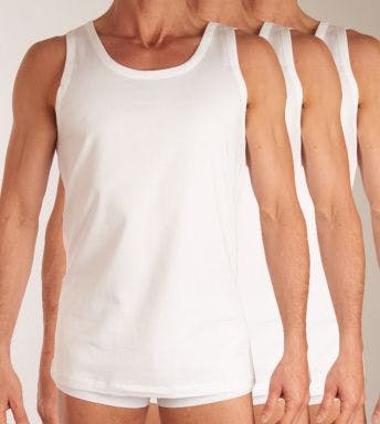 Hugo Boss singlet 3 pack Pure Cotton H 50325387-100