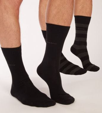 Hugo Boss sokken 2 paar Block Stripe H 50388438-001