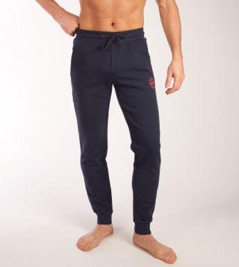Jack & Jones homewear lange broek JJIGORDON JJSHARK Sweat Pants H 12165322-NAVY