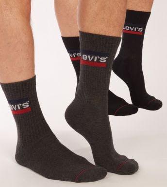 Levi's sokken 2 paar Regular Cut Sprtwr Logo H 902012001-208