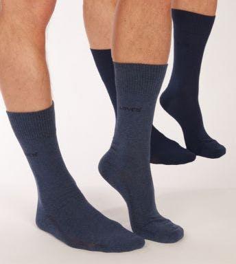 Levi's sokken 2 paar 168SF Regular Cut H 993053001-460