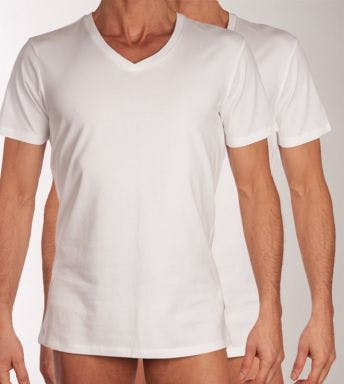 Levi's T-shirt 2 pack V-Neck H 905056001-300