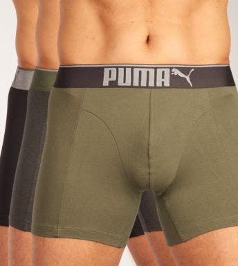 Puma short 3 pack Lifestyle Sueded Cotton Boxer H 681030001-002