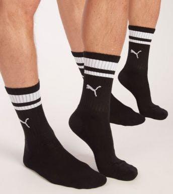 Puma sokken 2 paar Crew Heritage Stripe H 261058001-200