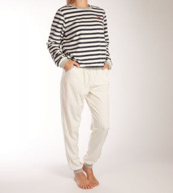Eskimo pyjama lange broek Rainbow Glitter D 11.62.38068