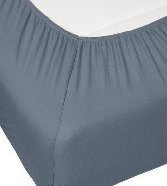 Essenza drap-houssse Premium Jersey Fitted sheet Denim Coton