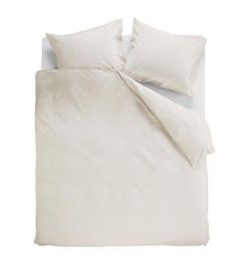 Ambiante dekbedovertrek Cotton Uni Off-white Katoen