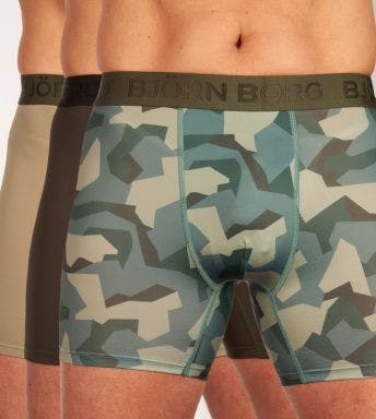 Björn Borg short 3 pack Performance Nordic Camo For Him H
