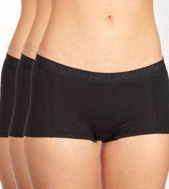 Björn Borg short 3 pack Solid Mia Minishorts For Her D