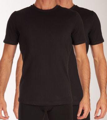 Björn Borg T-shirt ronde hals 2 pack Core Slim T-Shirt H