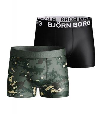 Bjorn Borg short 2 pack Performance Digital Woodland J