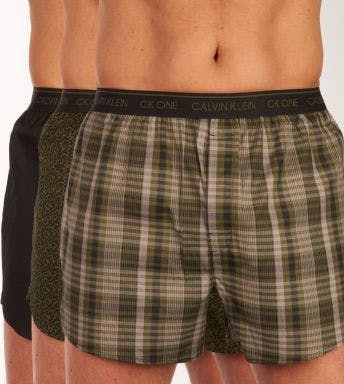 Calvin Klein wijde boxershort 3 pack Boxers Ck One H