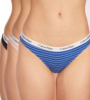 Calvin Klein string 3 pack Thong D