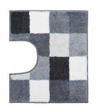 Casilin wc-mat Blocks grey