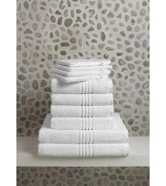 De Witte Lietaer 10-delige handdoekenset Othello white