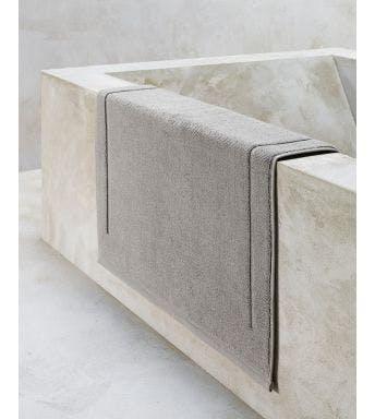 De Witte Lietaer badmat Contessa steel grey